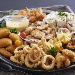 Fish and Veggie Platters